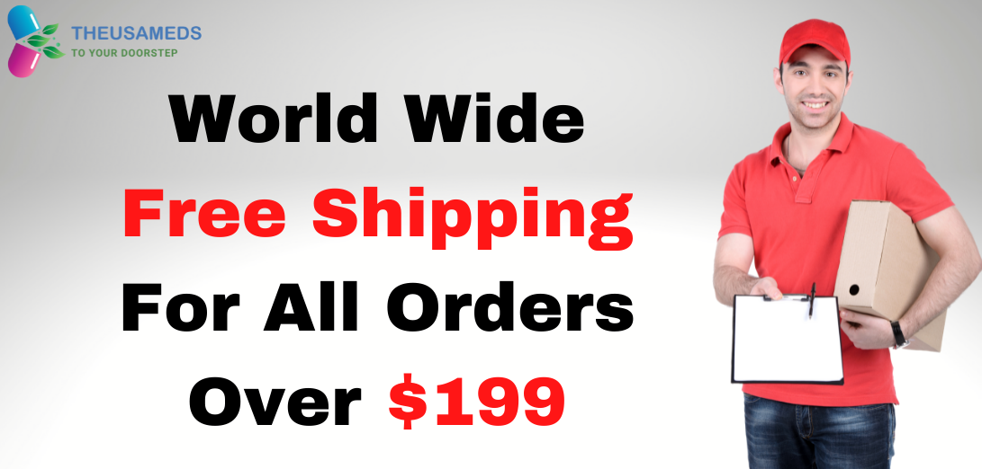World Wide Free Shipping For All Orders Over $199